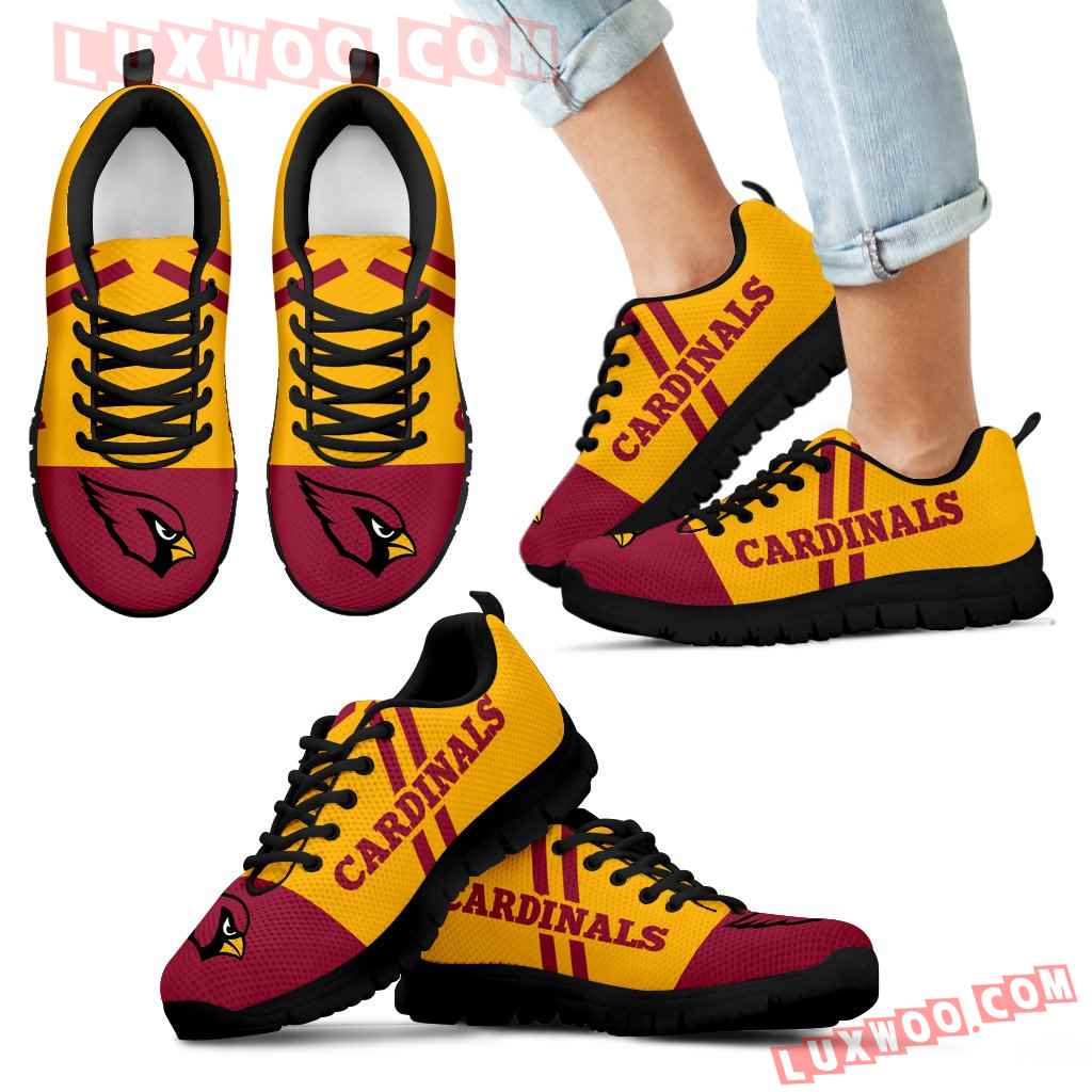 Line Stripe Logo Bottom Arizona Cardinals Sneakers