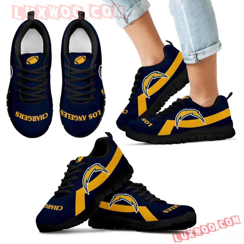 Los Angeles Chargers Line Logo Sneakers