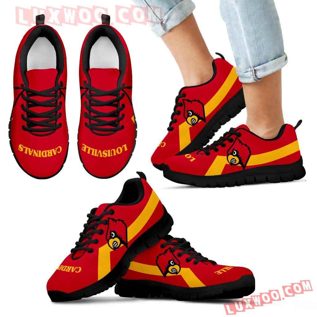Louisville Cardinals Line Logo Sneakers