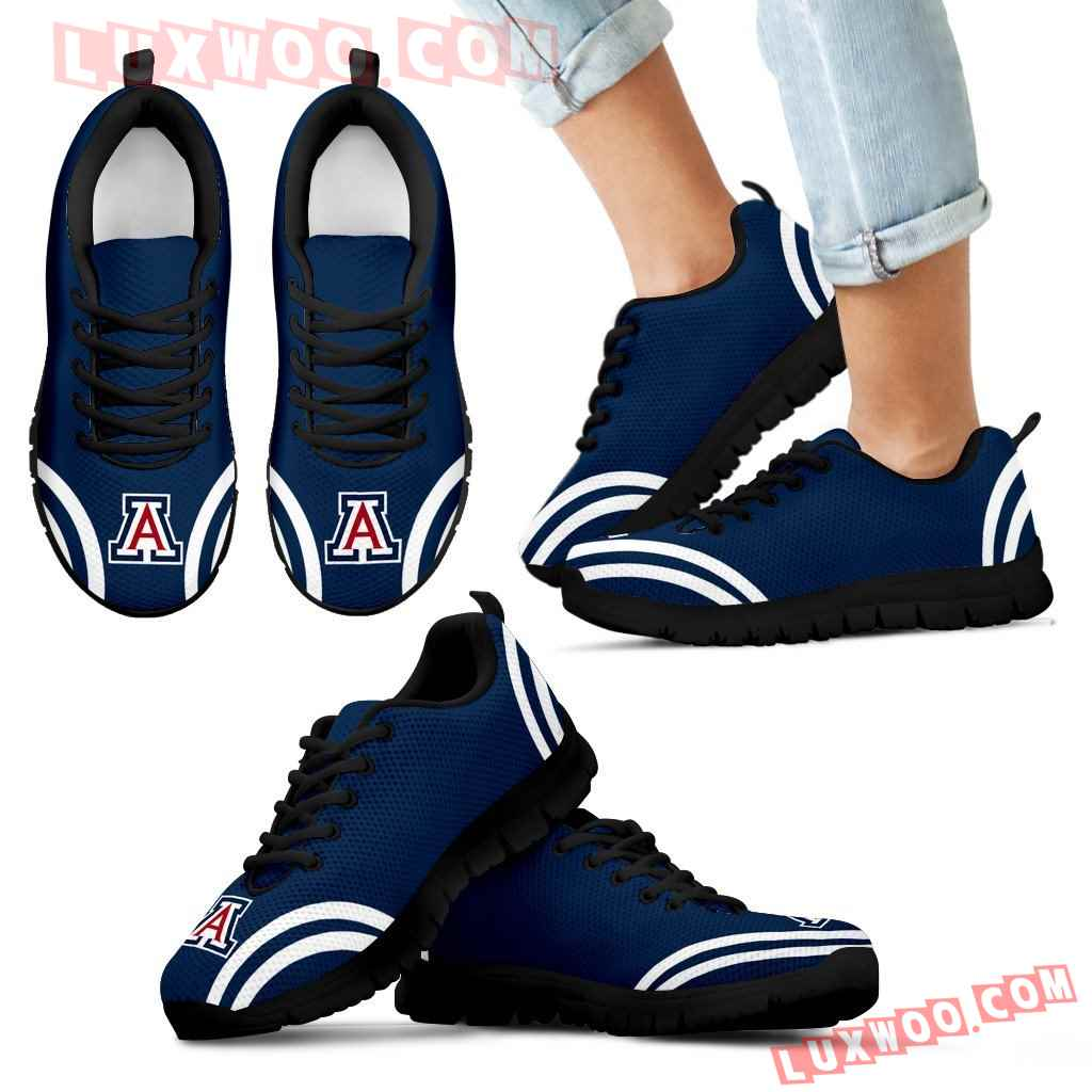 Lovely Curves Stunning Logo Icon Arizona Wildcats Sneakers