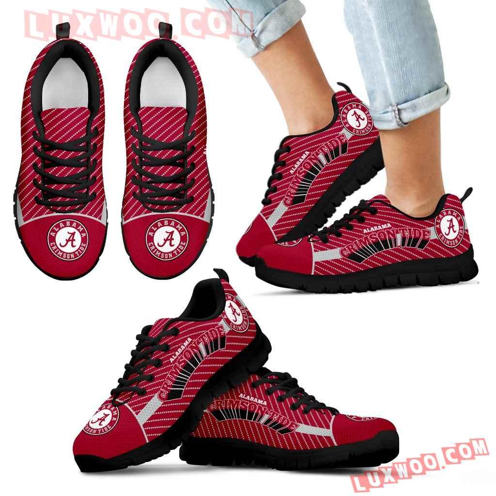 Lovely Stylish Fabulous Little Dots Alabama Crimson Tide Sneakers