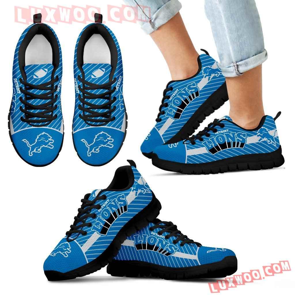 Lovely Stylish Fabulous Little Dots Detroit Lions Sneakers