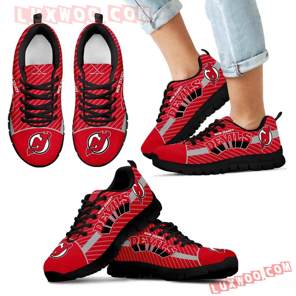Lovely Stylish Fabulous Little Dots New Jersey Devils Sneakers