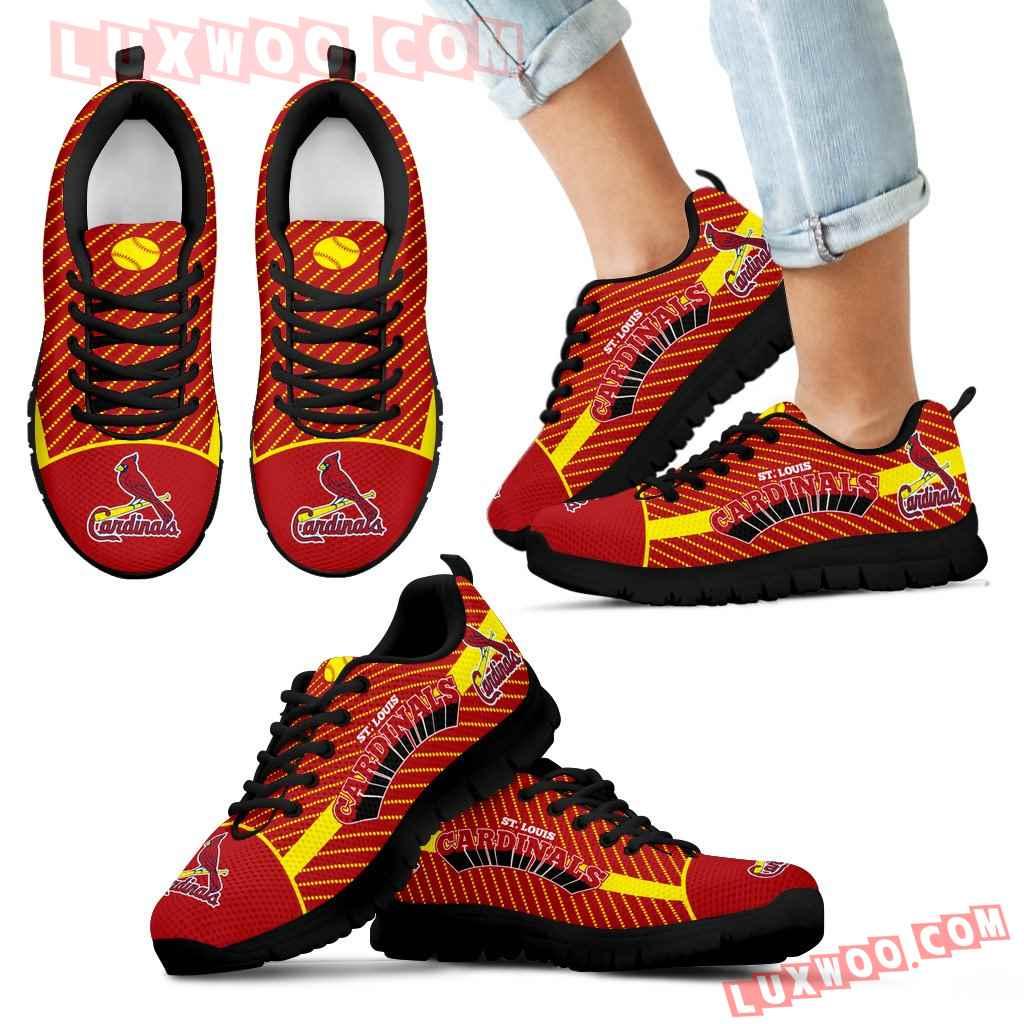 Lovely Stylish Fabulous Little Dots St Louis Cardinals Sneakers
