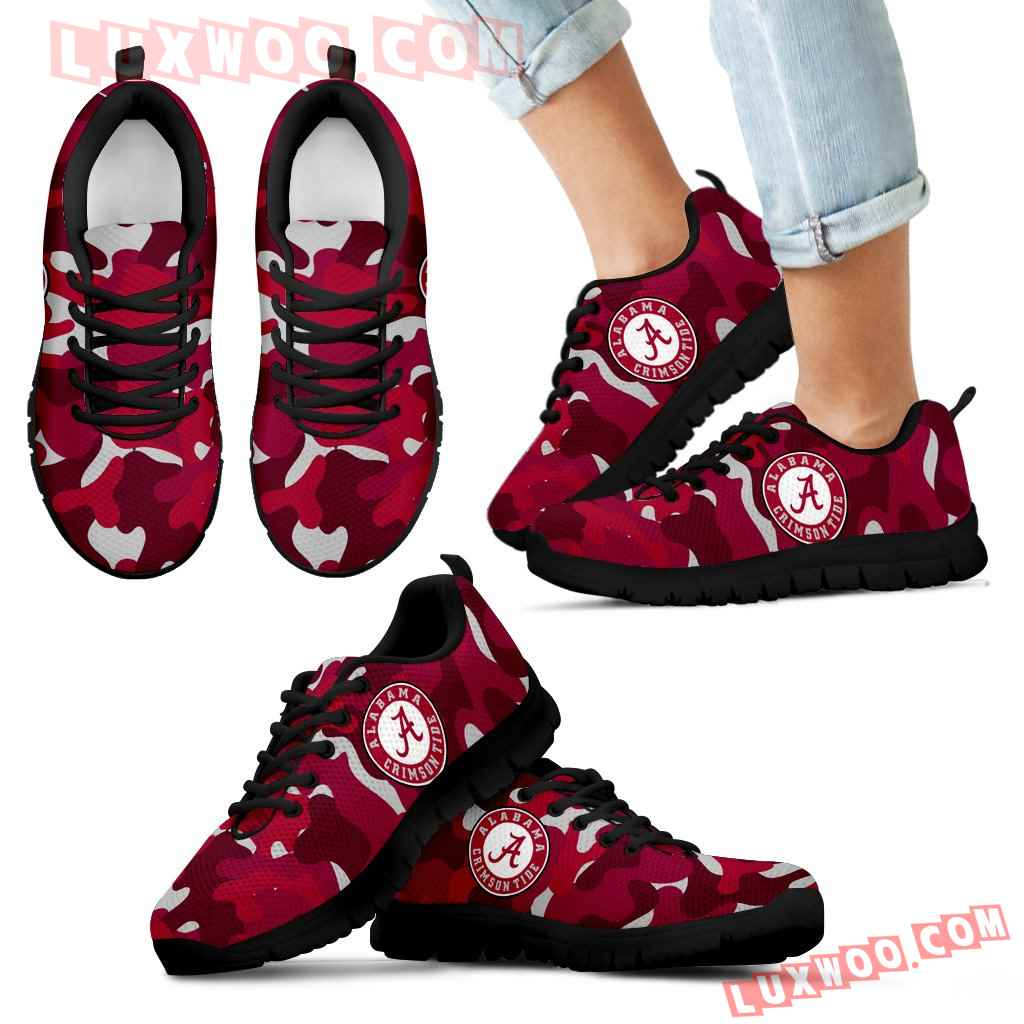 Military Background Energetic Alabama Crimson Tide Sneakers