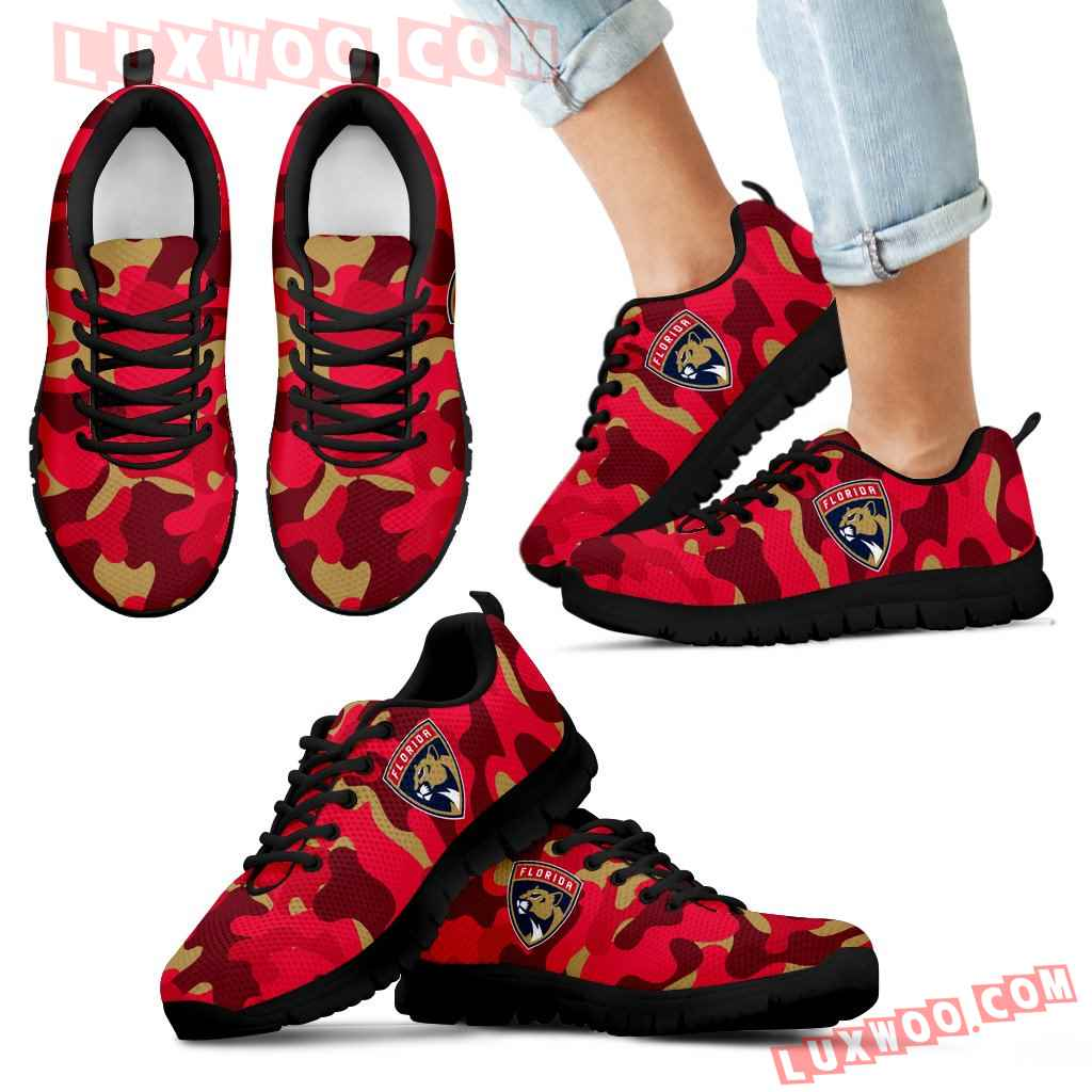 Military Background Energetic Florida Panthers Sneakers