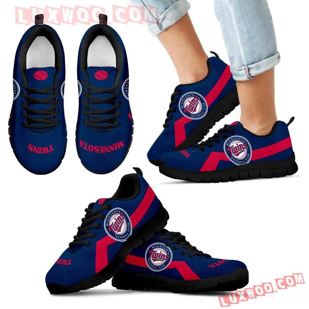 Minnesota Twins Line Logo Sneakers