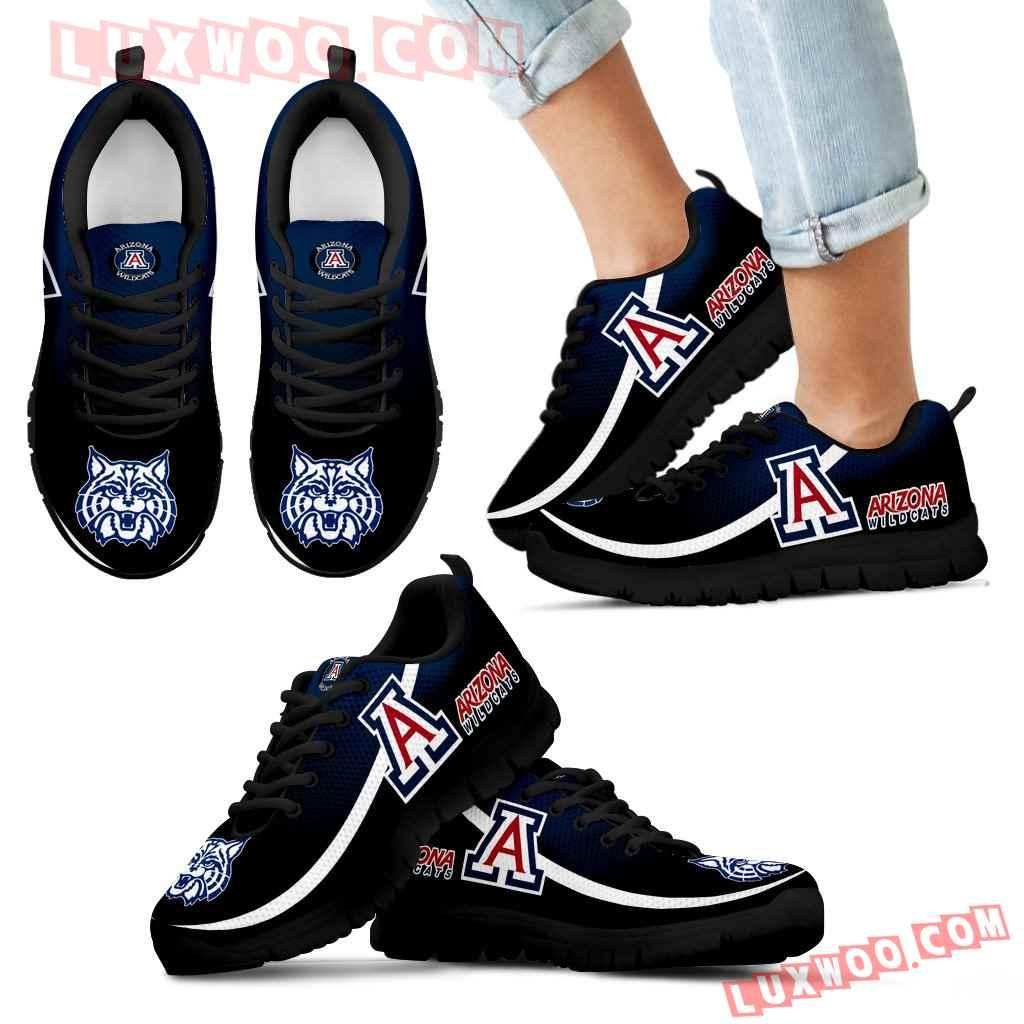 Mystery Straight Line Up Arizona Wildcats Sneakers
