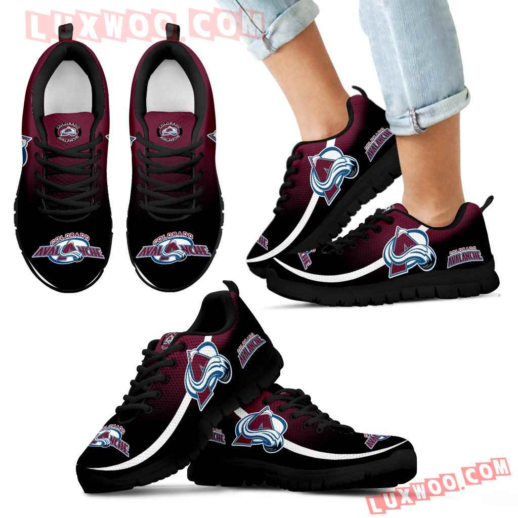 Mystery Straight Line Up Colorado Avalanche Sneakers