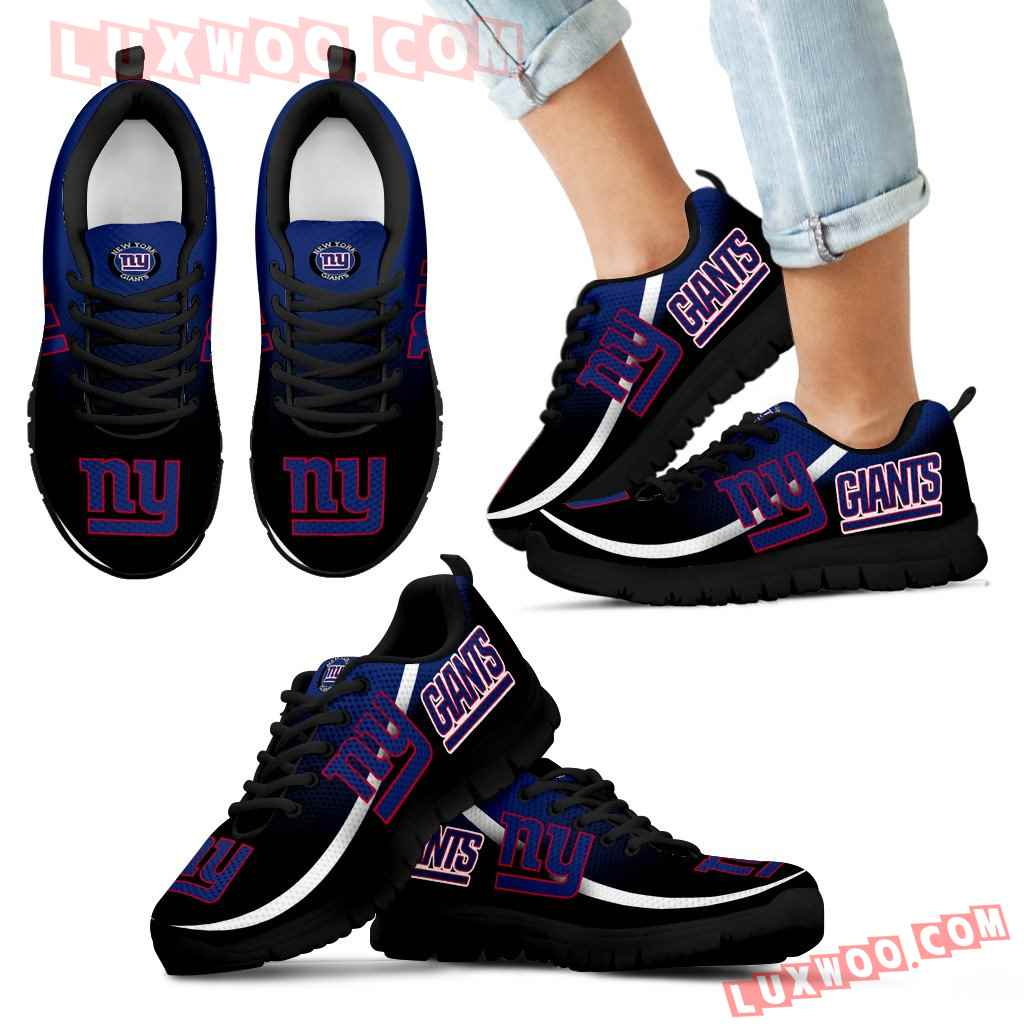 Mystery Straight Line Up New York Giants Sneakers