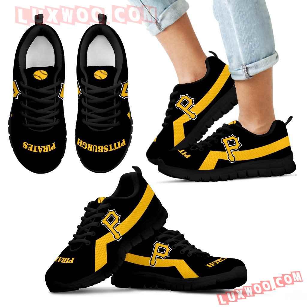 Pittsburgh Pirates Line Logo Sneakers