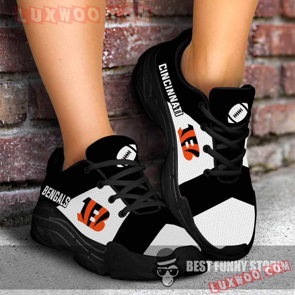 Pro Shop Logo Cincinnati Bengals Chunky Sneakers