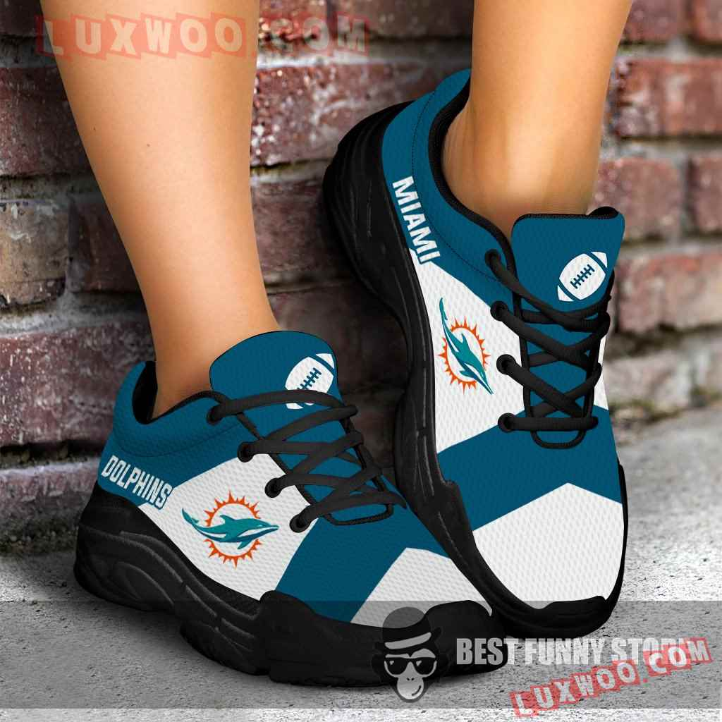 Pro Shop Logo Miami Dolphins Chunky Sneakers