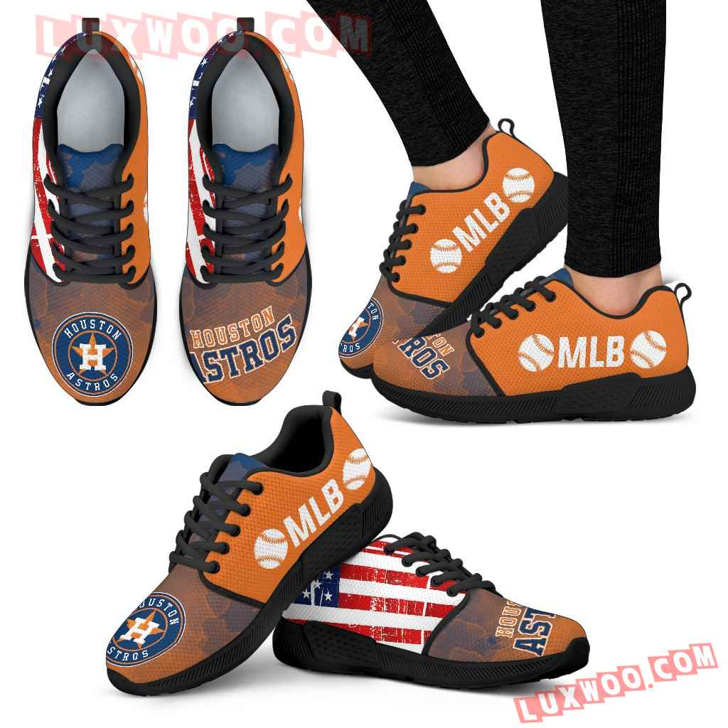 Simple Fashion Houston Astros Shoes Athletic Sneakers