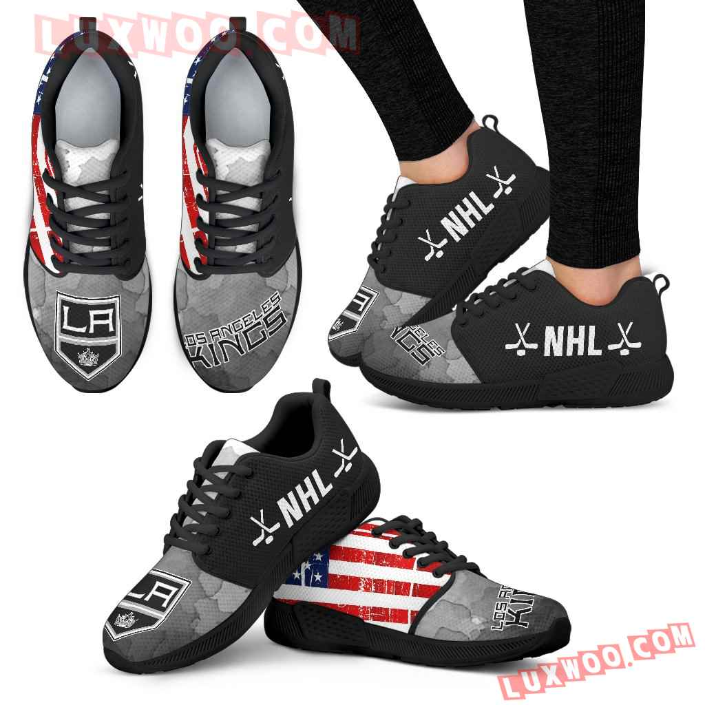 Simple Fashion Los Angeles Kings Shoes Athletic Sneakers