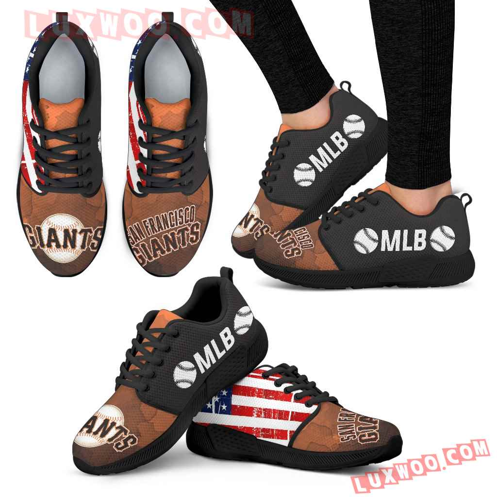Simple Fashion San Francisco Giants Shoes Athletic Sneakers