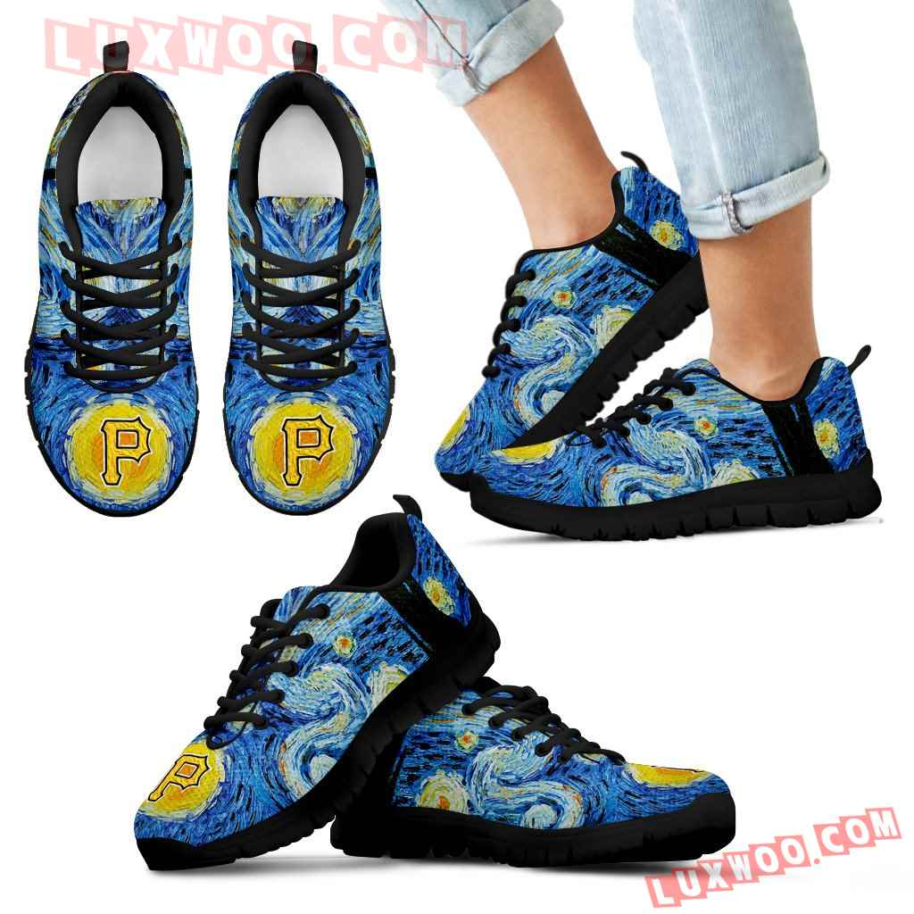 Sky Style Art Nigh Exciting Pittsburgh Pirates Sneakers