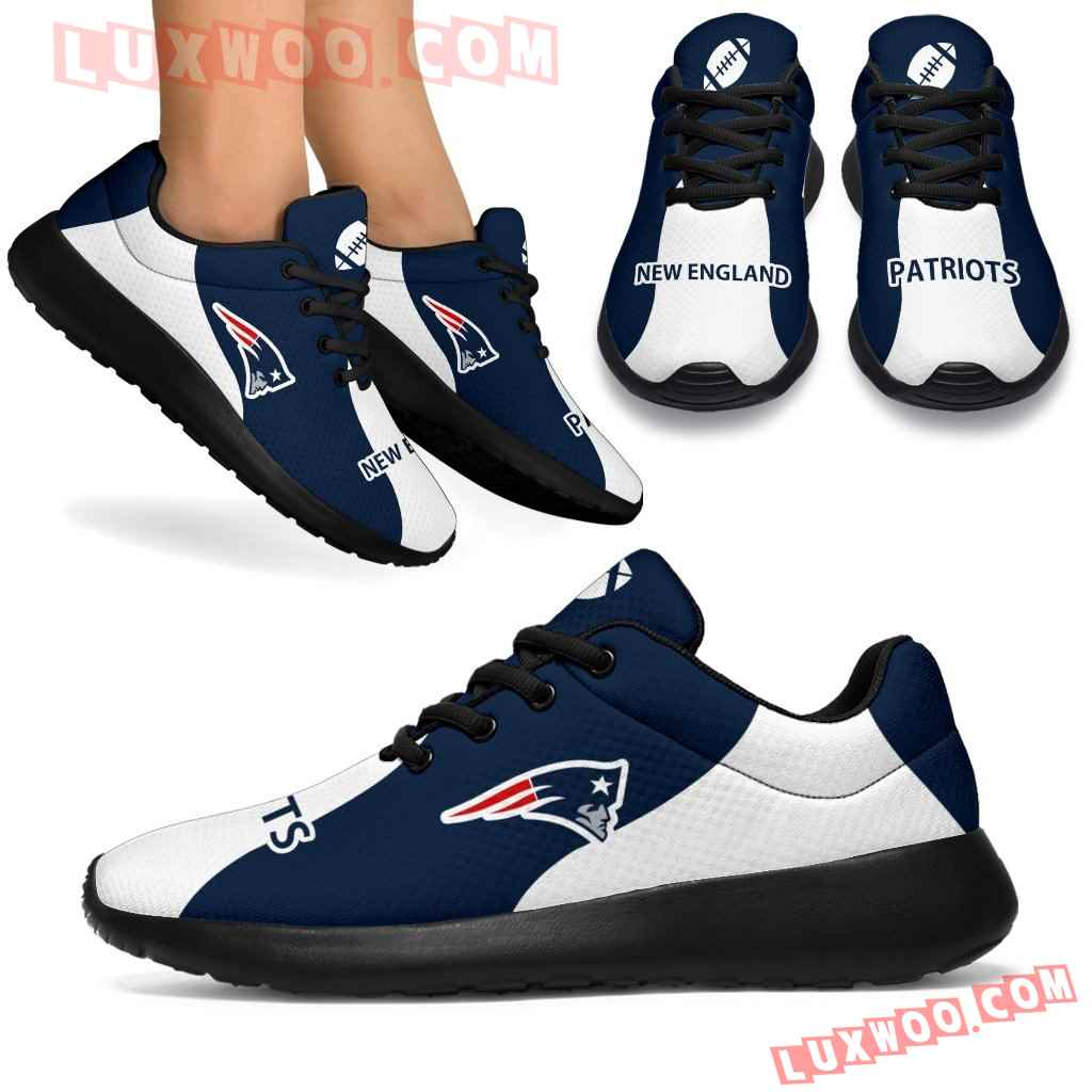 Special Sporty Sneakers Edition New England Patriots Shoes