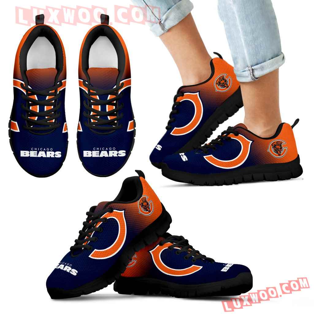 Special Unofficial Chicago Bears Sneakers