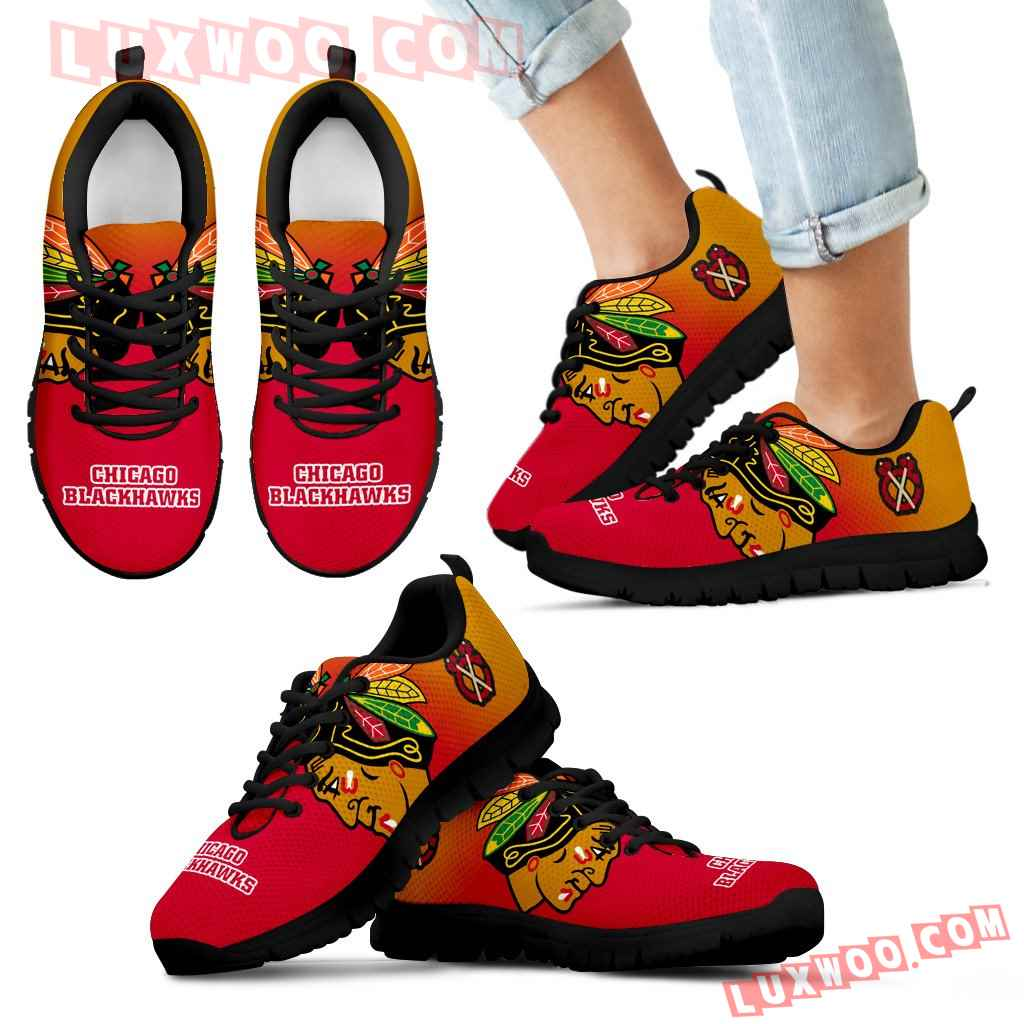 Special Unofficial Chicago Blackhawks Sneakers