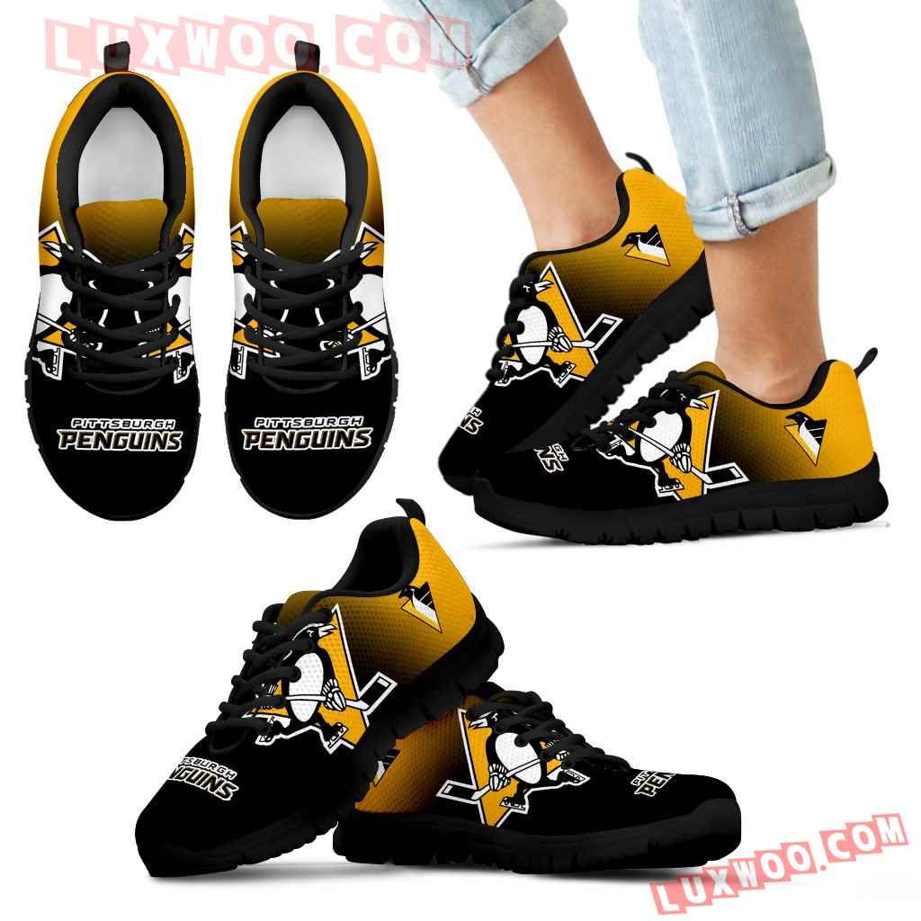Special Unofficial Pittsburgh Penguins Sneakers