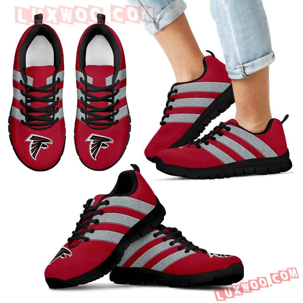 Splendid Line Sporty Atlanta Falcons Sneakers