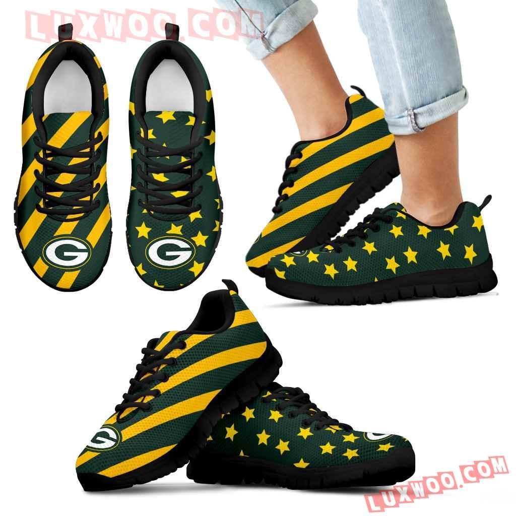 Splendid Star Mix Edge Fabulous Green Bay Packers Sneakers