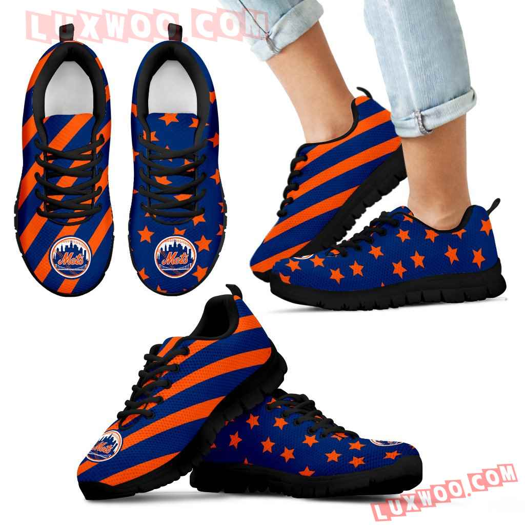 Splendid Star Mix Edge Fabulous New York Mets Sneakers