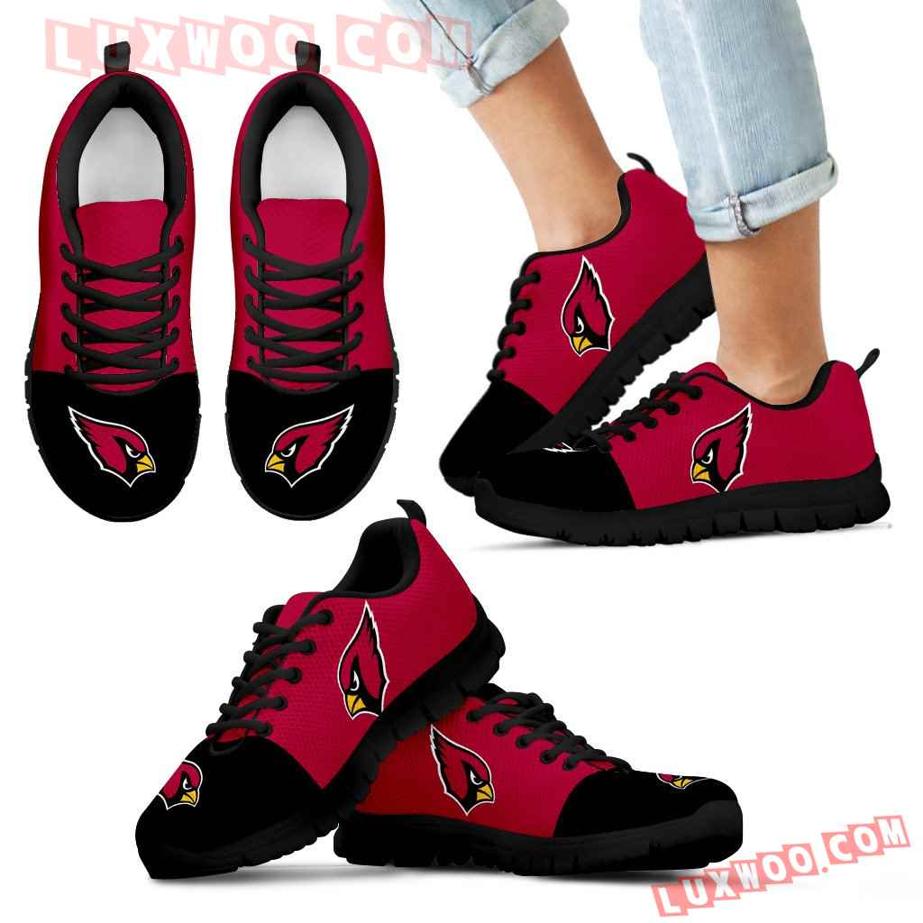 Two Colors Aparted Arizona Cardinals Sneakers