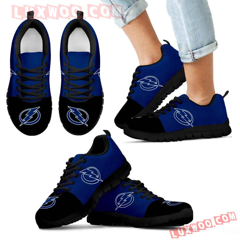 Two Colors Aparted Tampa Bay Lightning Sneakers