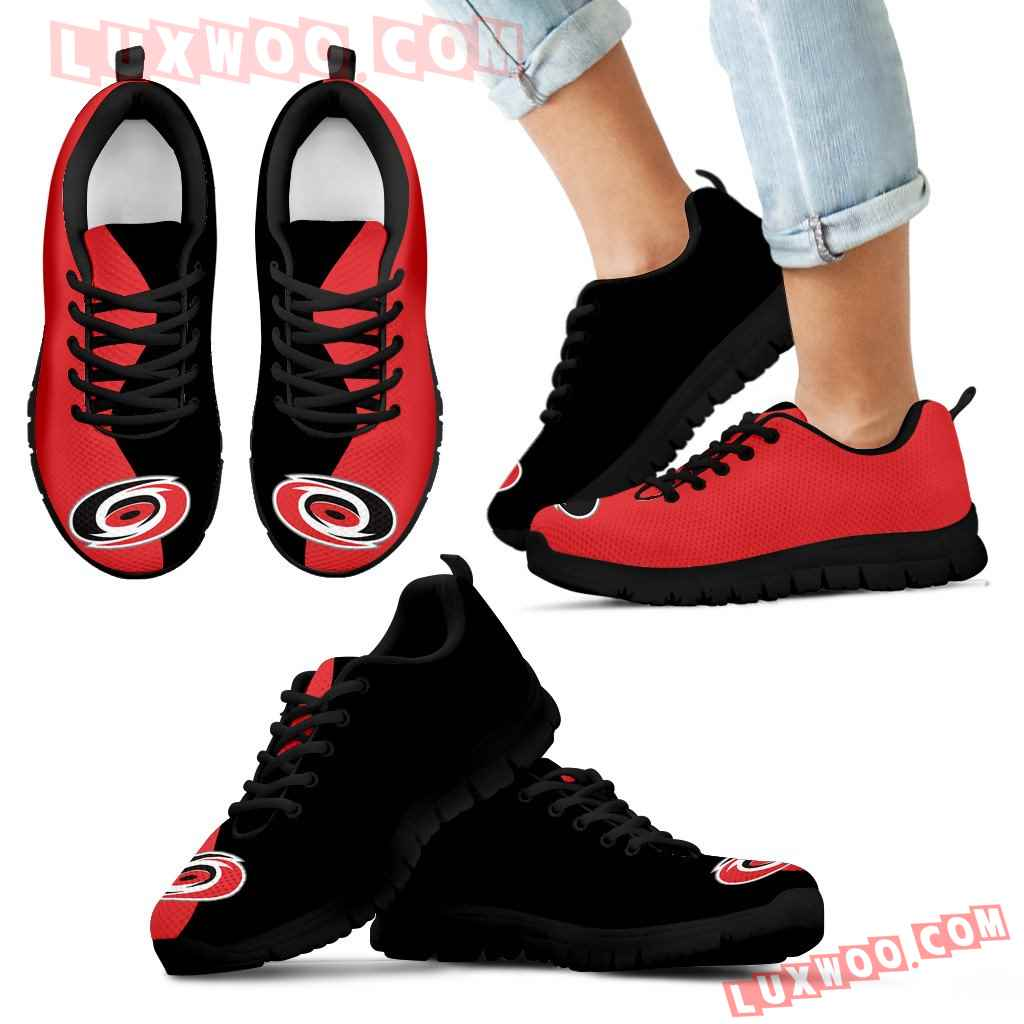 Two Colors Trending Lovely Carolina Hurricanes Sneakers