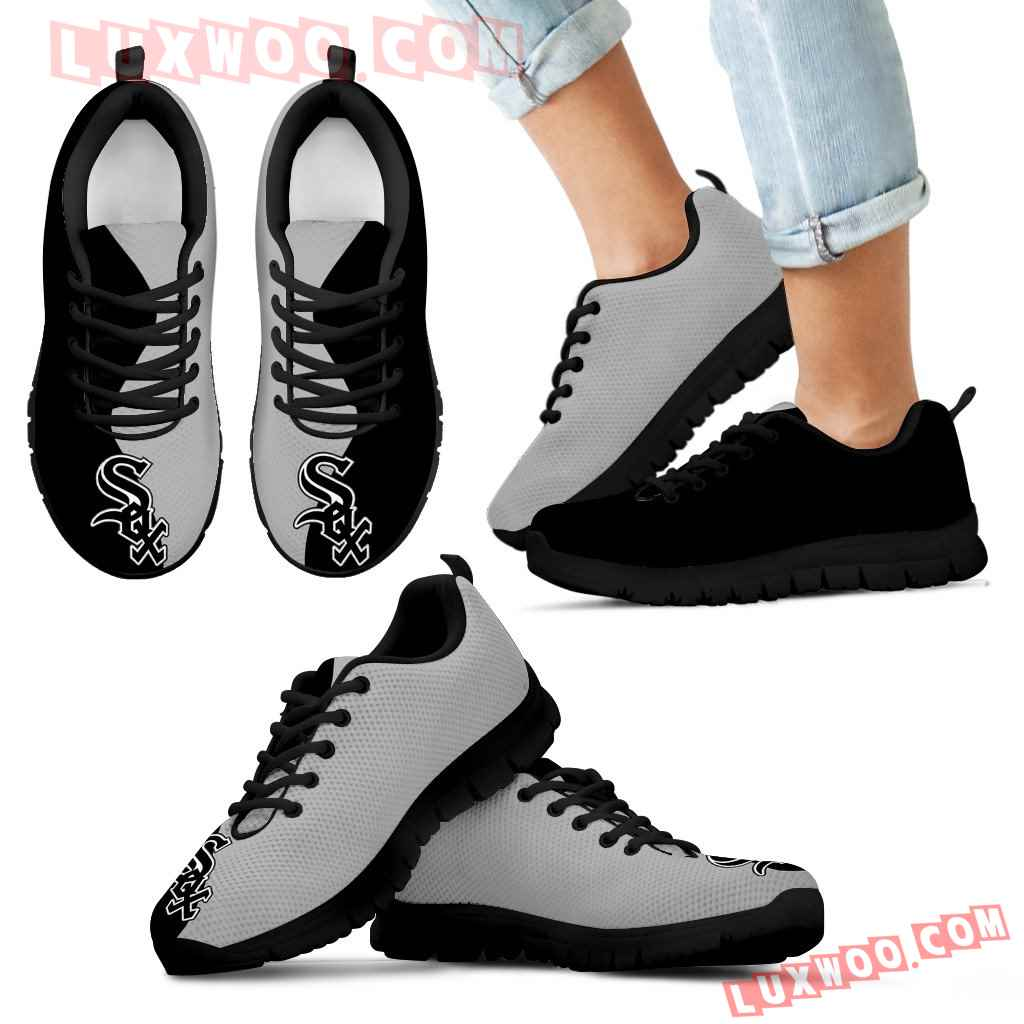 Two Colors Trending Lovely Chicago White Sox Sneakers