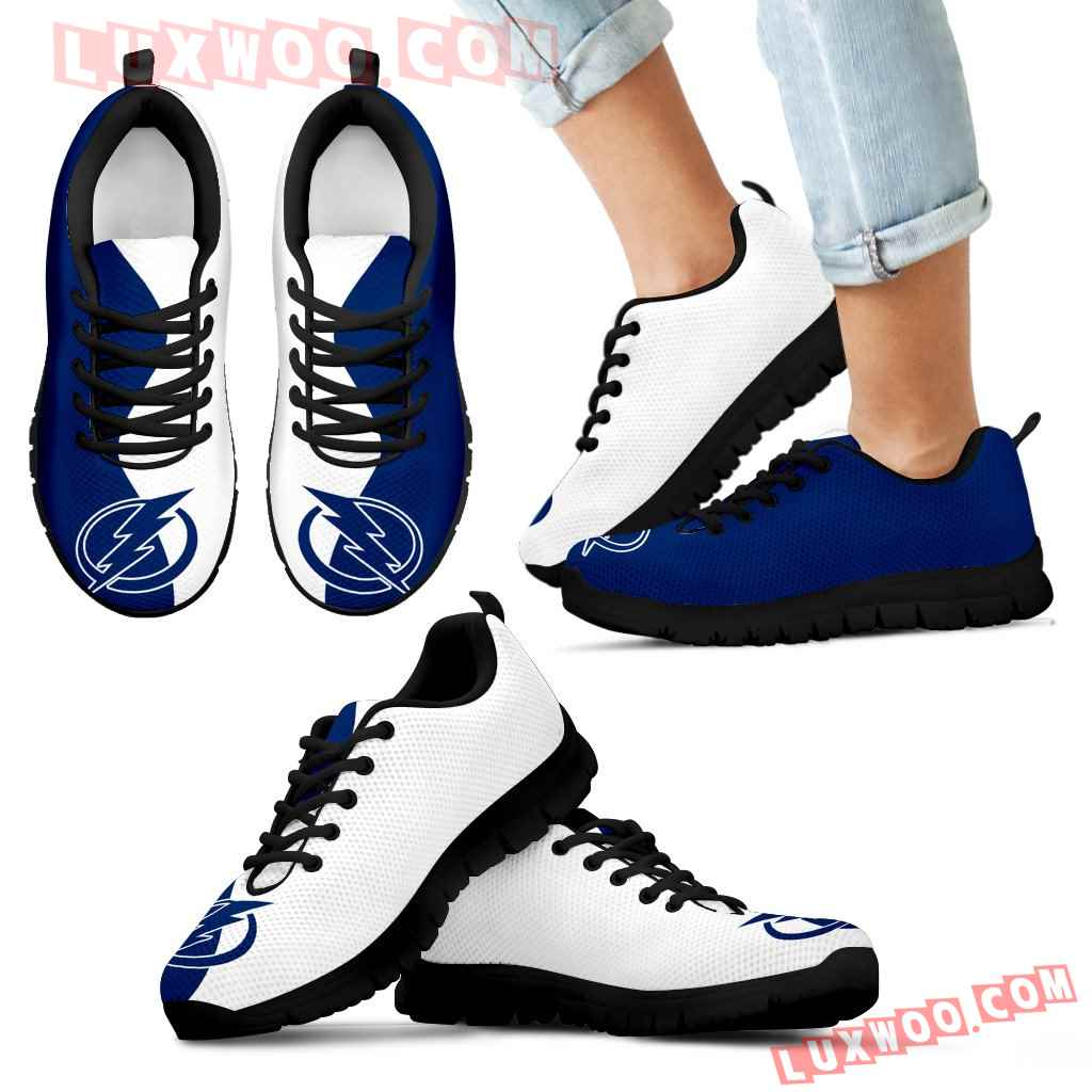 Two Colors Trending Lovely Tampa Bay Lightning Sneakers