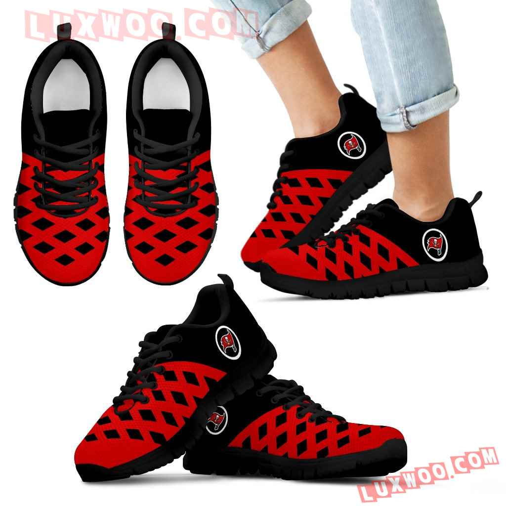 Two Colours Cross Line Tampa Bay Buccaneers Sneakers