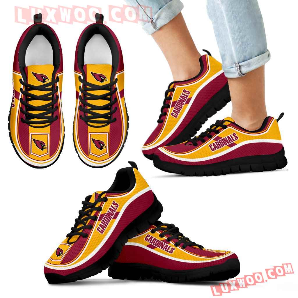 Vintage Color Flag Arizona Cardinals Sneakers