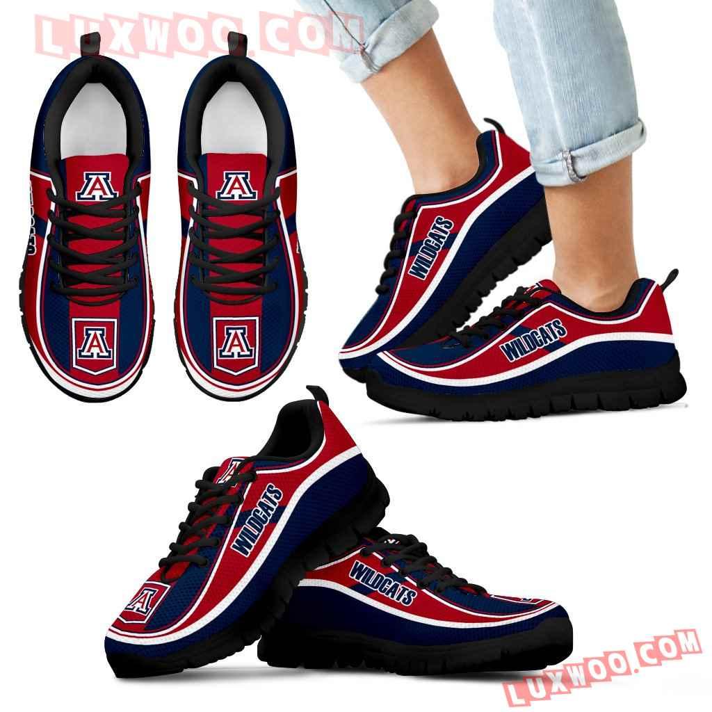 Vintage Color Flag Arizona Wildcats Sneakers