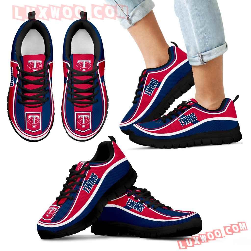 Vintage Color Flag Minnesota Twins Sneakers
