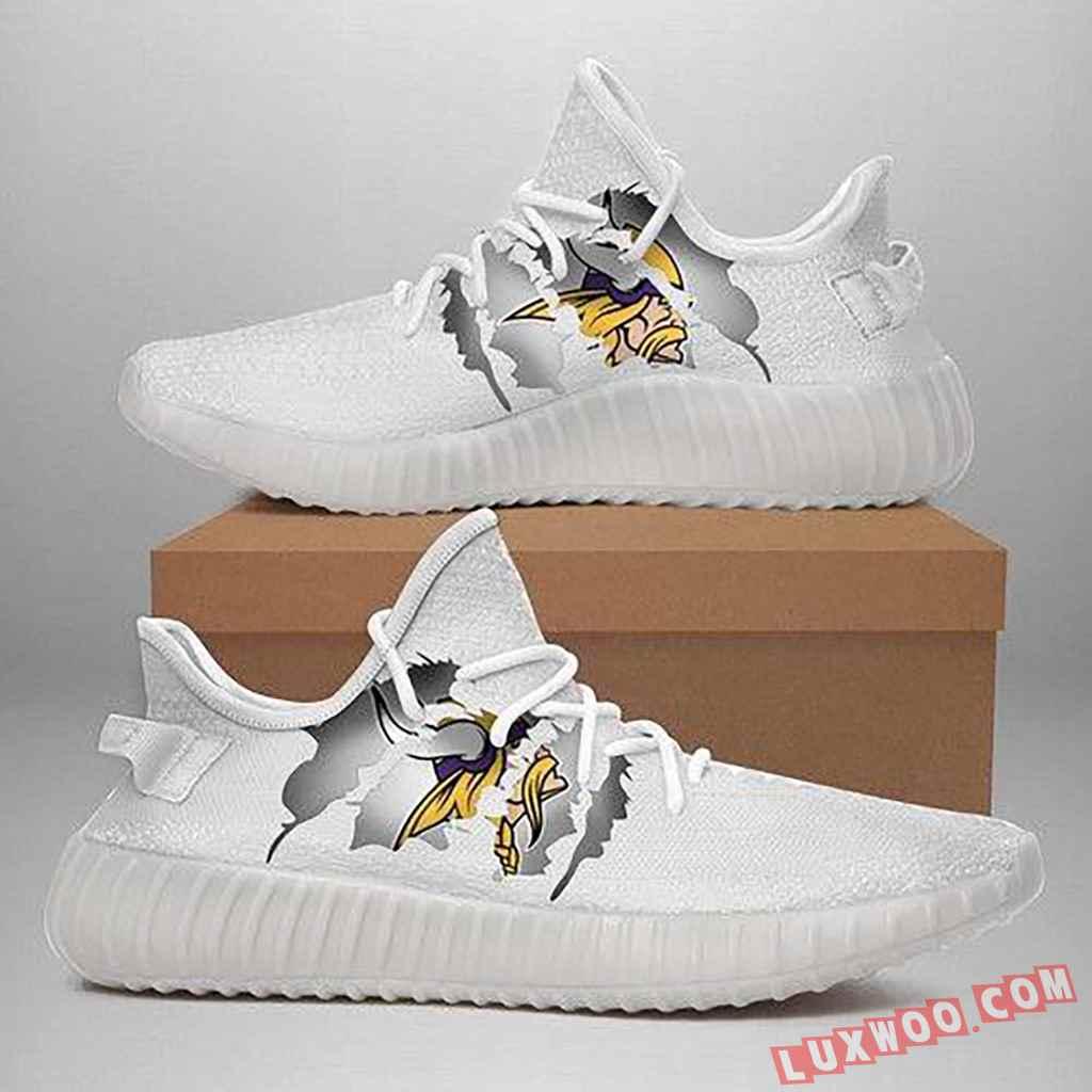 240708 Minnesota Vikings Yeezy Shoes