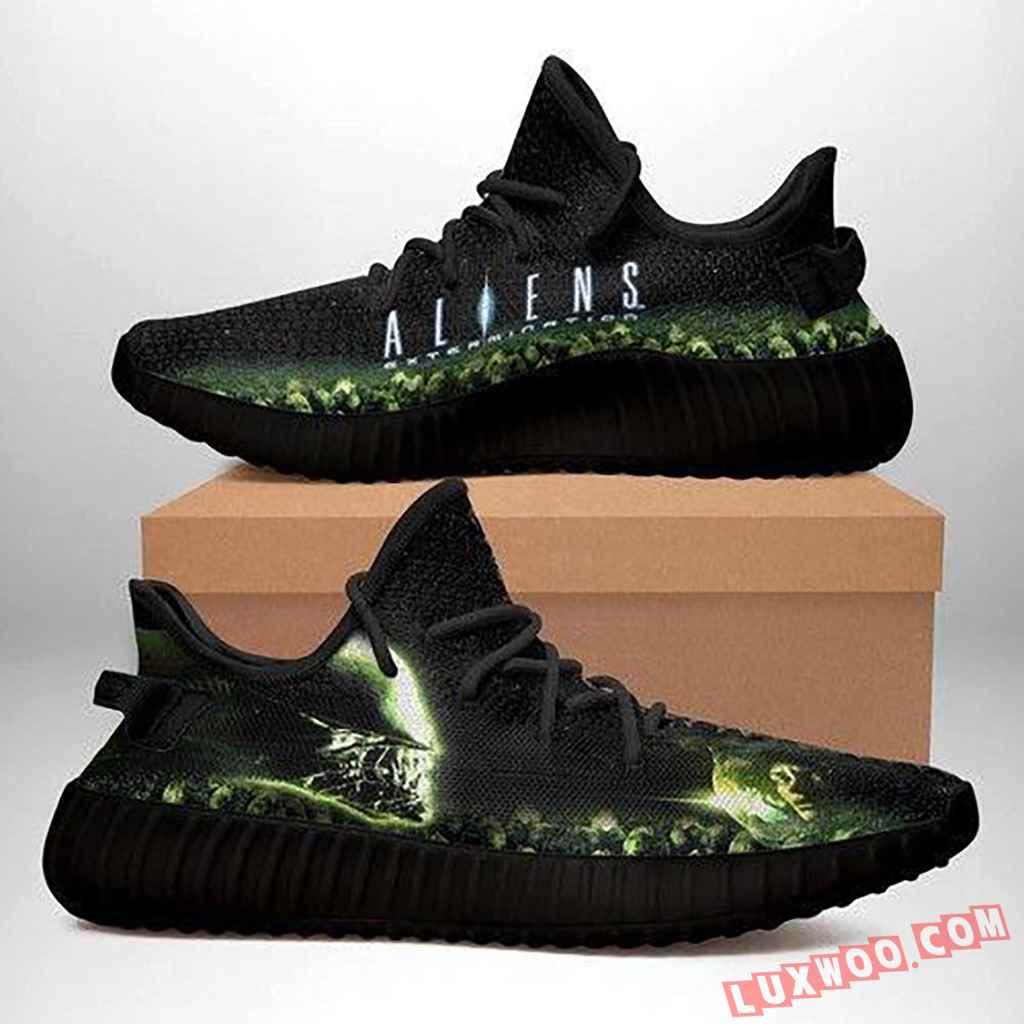 Alien Black Yeezy Sneakers