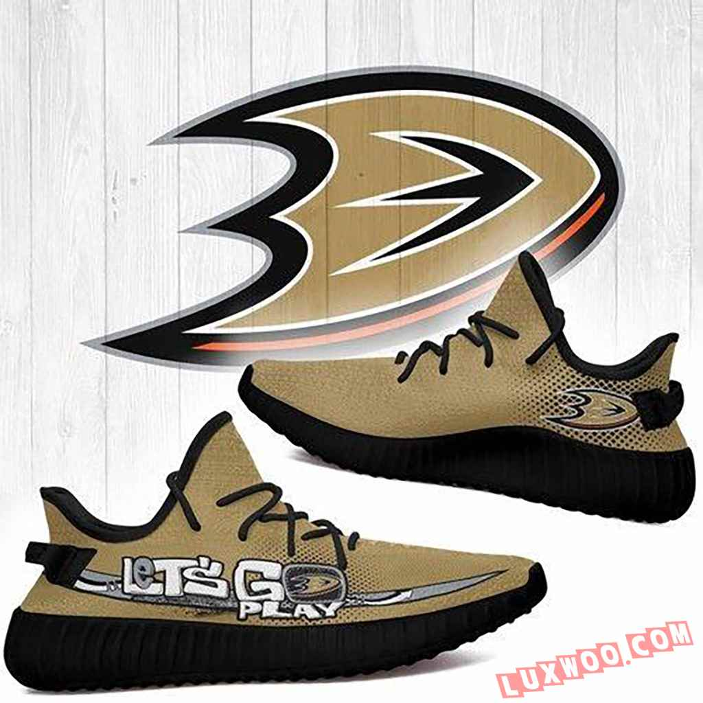 Anaheim Ducks Nhl Yeezy Boost 350 V2