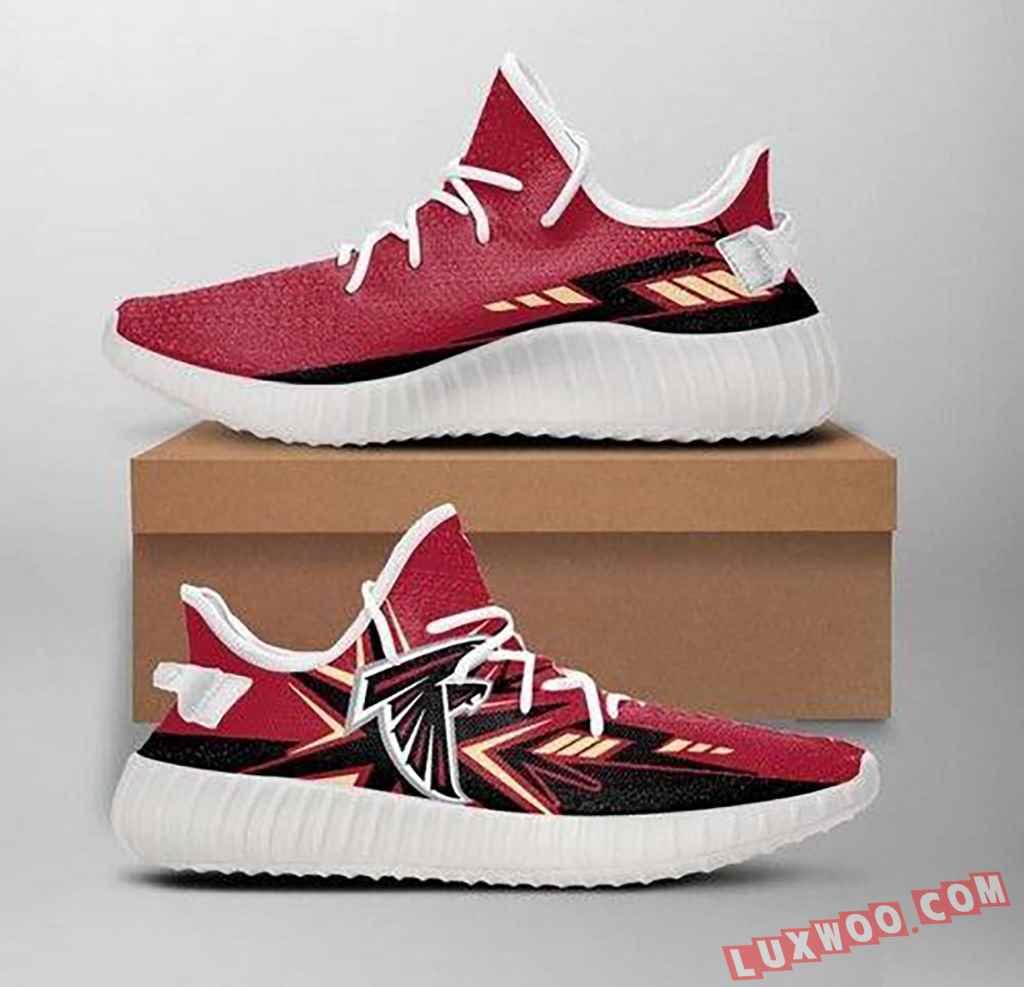 Atlanta Falcons Nfl 1 Yeezy Boost 350 V2 Shoes