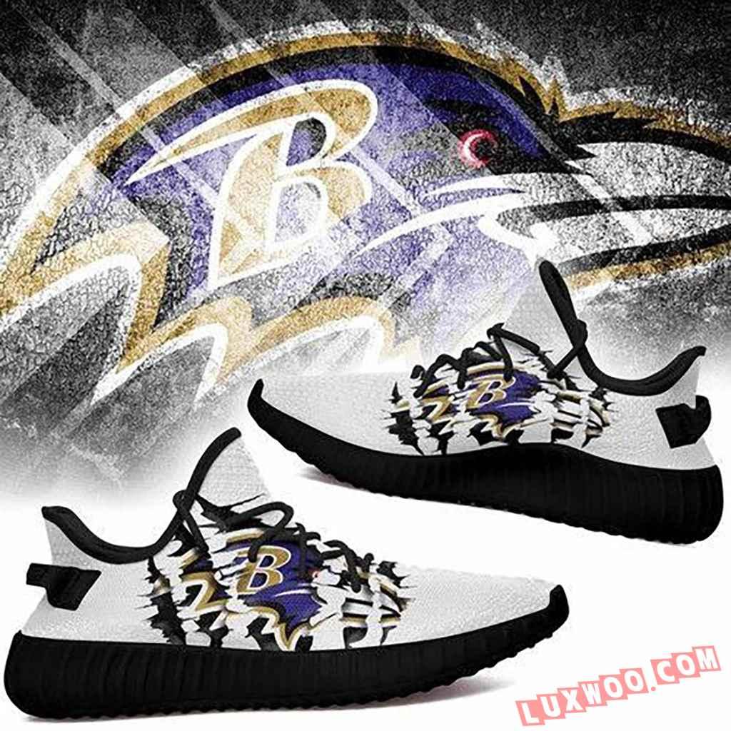 Baltimore Ravens Nfl Sport Teams Yeezy Boost