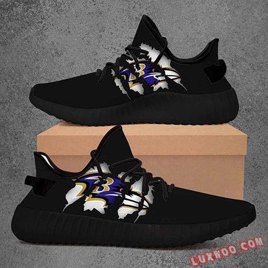 Baltimore Ravens Nfl Yeezy Boost 350 V2 Shoes Sport Teams