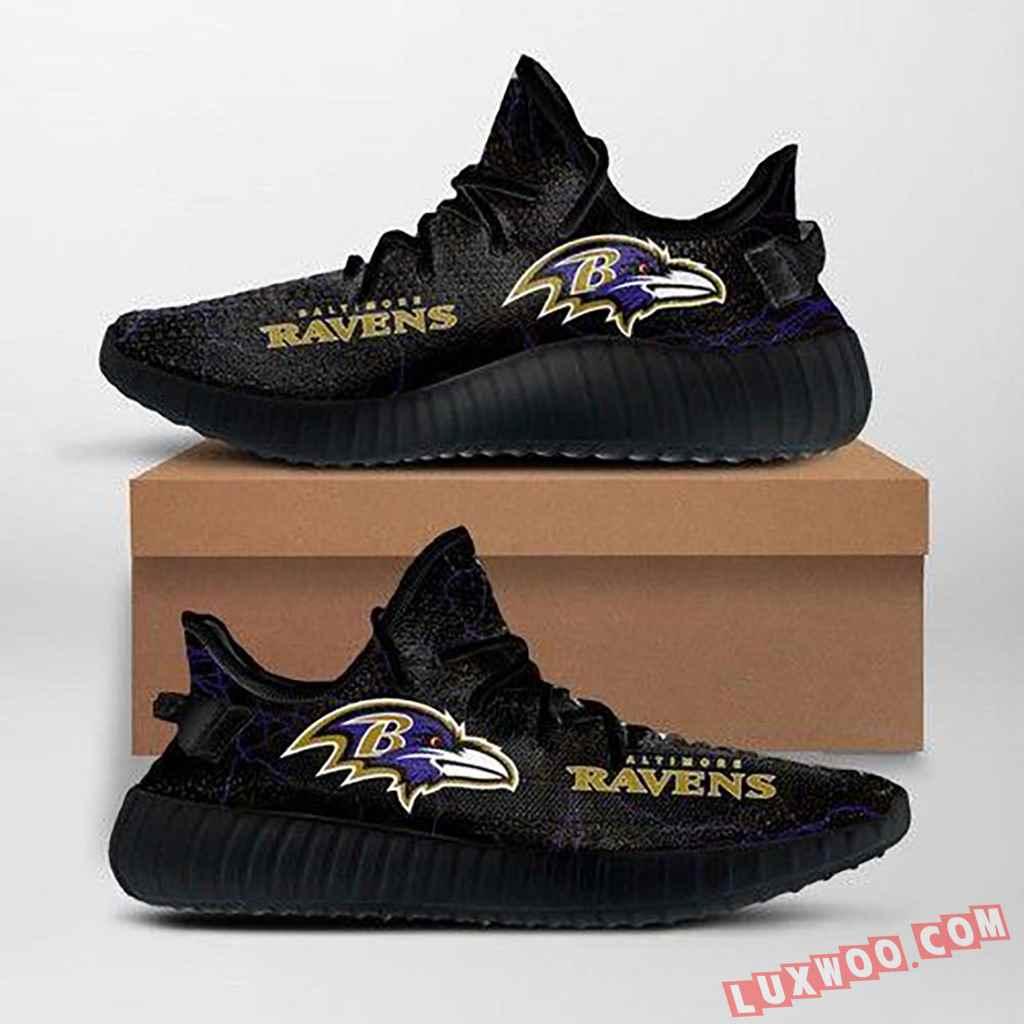Baltimore Ravens Nfl Yeezy Sneakers Ffs7010