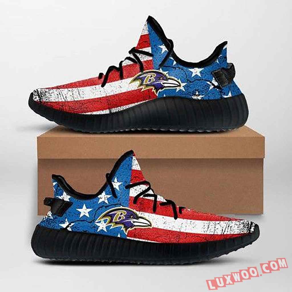 Baltimore Ravens Nfl Yeezy Sneakers Ffs7011