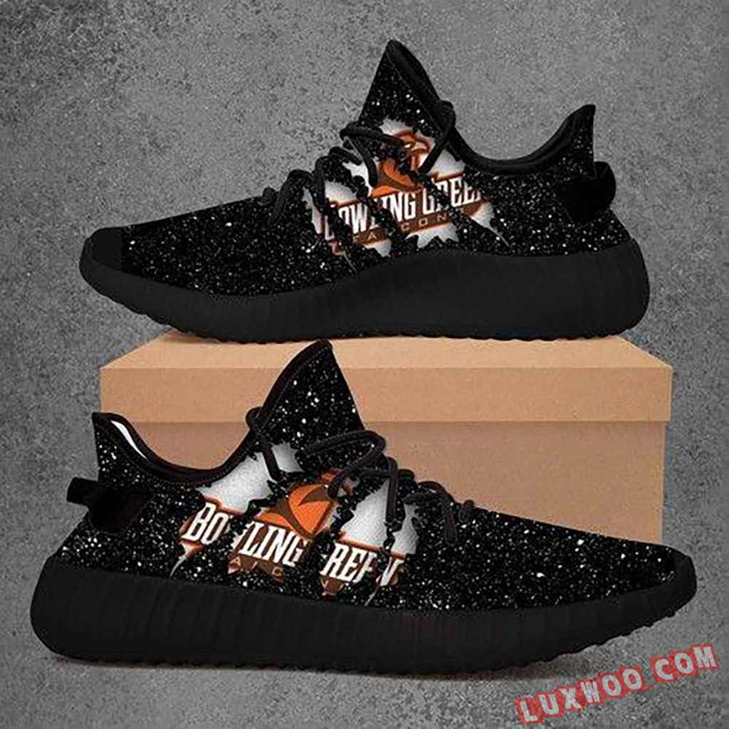 Bowling Green State University Falcons Ncaa Yeezy Boost 350 V2