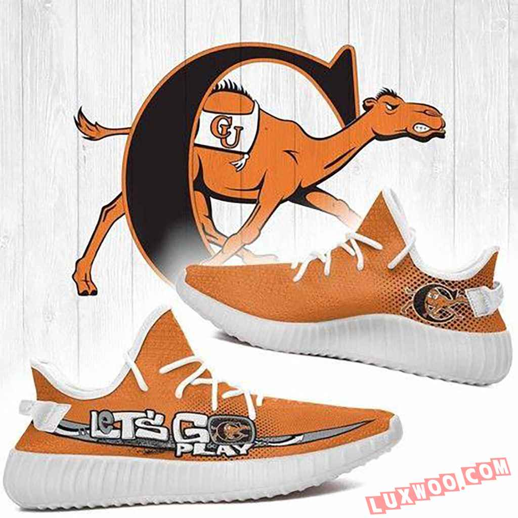 Campbell Fighting Camels Ncaa Yeezy Boost 350 V2 Shoes