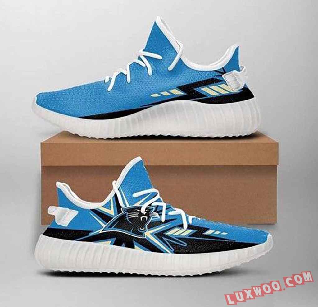 Carolina Panthers Nfl 1 Yeezy Boost 350 V2 Shoes