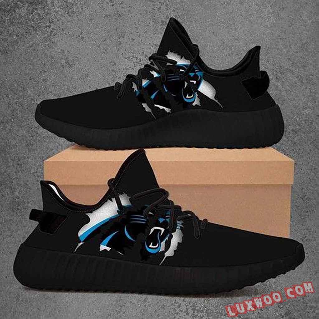 Carolina Panthers Nfl Yeezy Boost 350 V2 Shoes Sport Teams