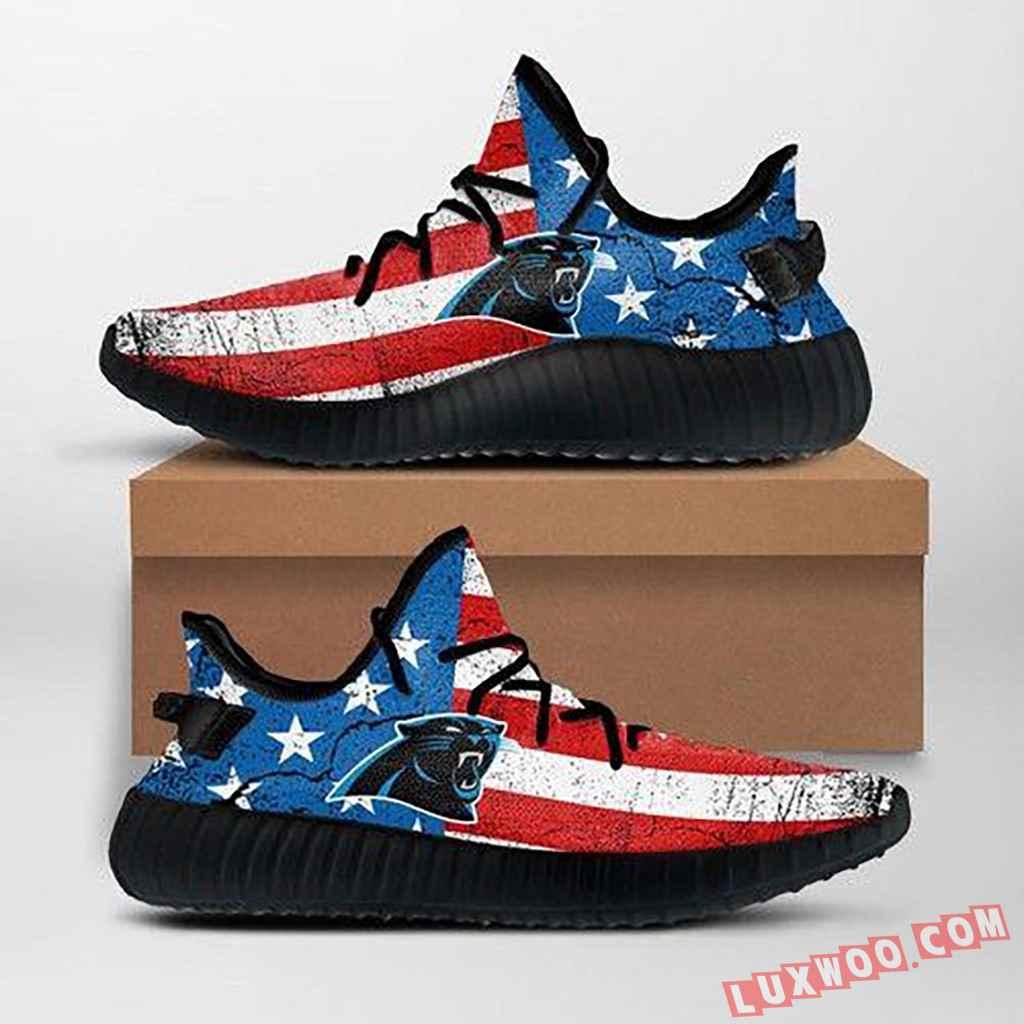 Carolina Panthers Nfl Yeezy Sneakers Ffs7011